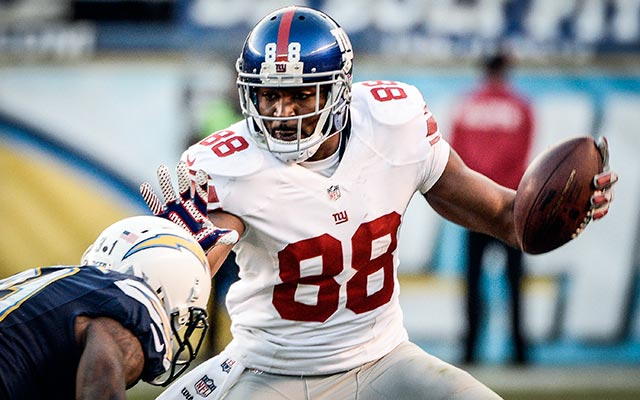 Hakeem Nicks could find himself remaining in the NFC East. (USATSI)