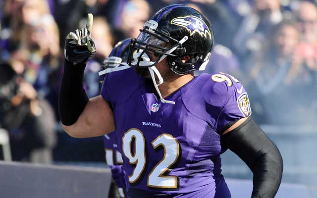 Haloti Ngata has 23.5 career sacks with the Ravens. (USATSI)