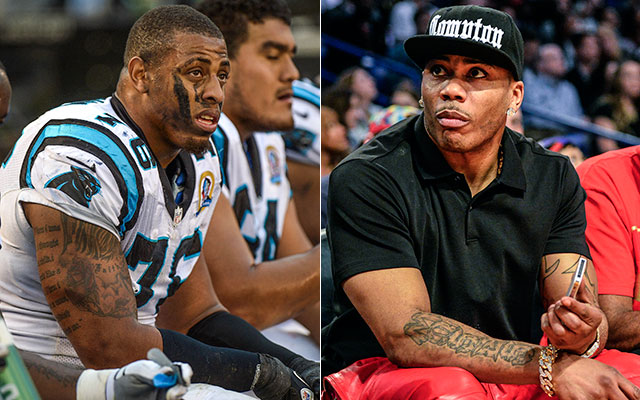Panthers DE Greg Hardy was arrested Tuesday. (USATSI)