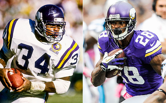Would the Vikings be better off trading Adrian Peterson? (Getty Images)