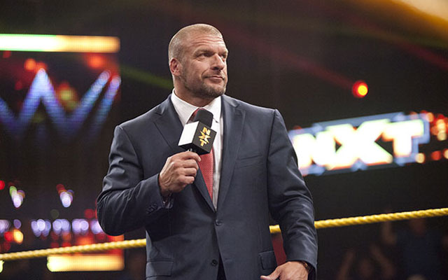 Triple H is not only WWE champion and executive VP, he also runs NXT. (WWE)