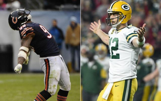 Bears Lamarr Houston Aaron Rodgers Is A Little Too Arrogant