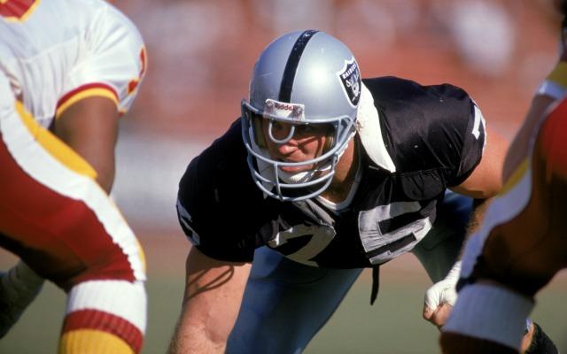 pretty nice 0ae1e bc350 Did Howie Long have 'metal pebbles' sewn into 1981 Raiders ...