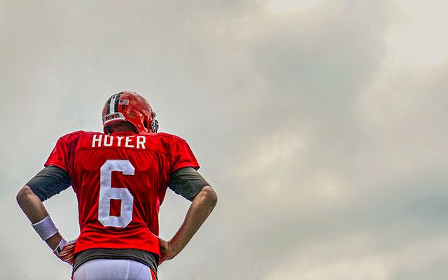 Brian Hoyer spent three seasons with the Patriots and Tom Brady. (USATSI)