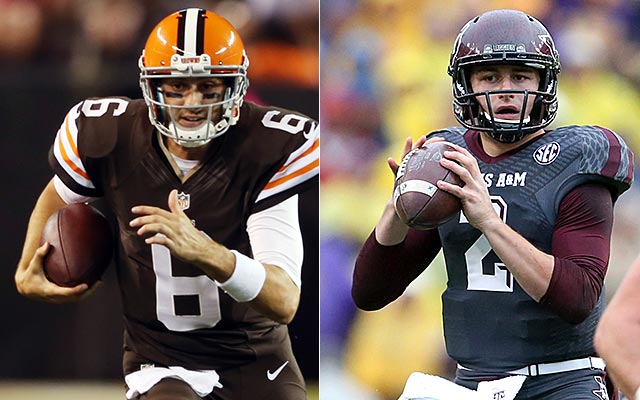 Who will be under center for the Browns in 2014?. (USATSI)