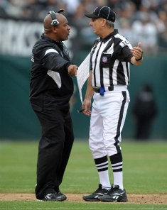 H. Jackson has a problem with the officials who are on his games (US Presswire).