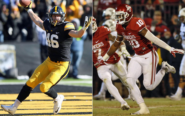CFP chair explains why Oklahoma jumped Notre Dame, Iowa to No. 3