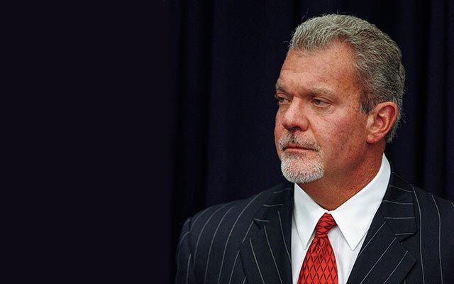 Jim Irsay agreed to share his random drug testing with the NFL. (USATSI)