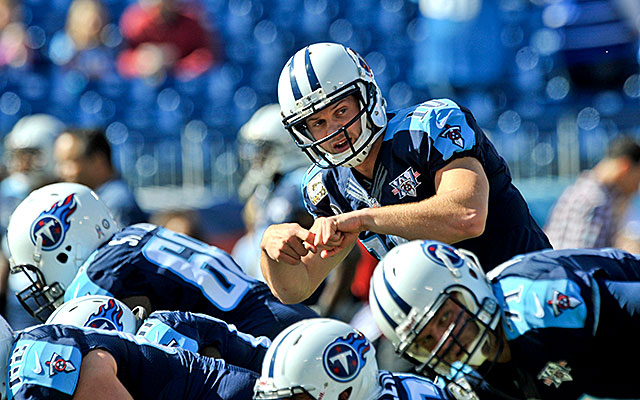 This could be Jake Locker's last season with the Titans. (USATSI)