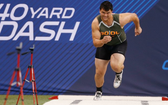 2014 nfl combine results 40yard dash offensive line