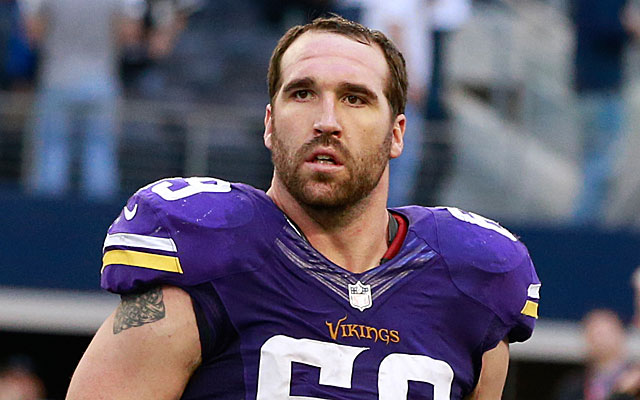 Jared Allen's age must be considered when rating his free-agent worth. (USATSI)
