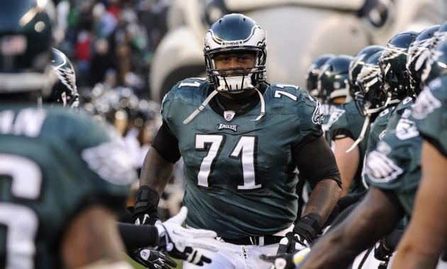 Jason Peters is being evaluated for a head injury. (USATSI)