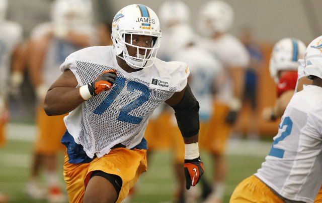 Ja'Wuan James has signed his rookie contract. (USATSI)