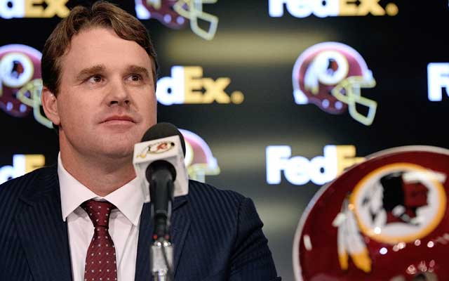 Jay Gruden is trying to build a meaningful relationship with his quarterback. (USATSI)