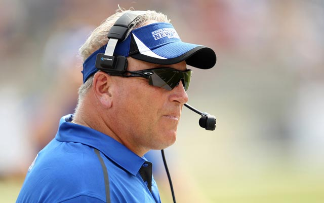 Jeff Quinn was dismissed Monday, seven games into his fifth season at Buffalo. (USATSI)