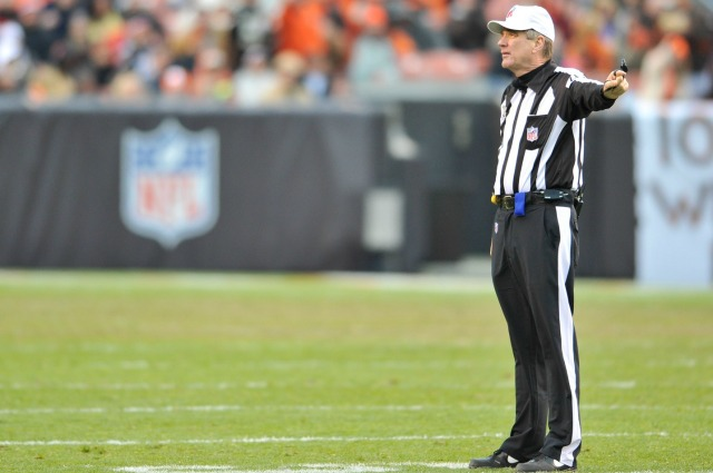 Lucky you, you'll get to see Jeff Triplette referee this weekend. (USATSI)