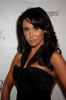 Jenn Sterger said she wants to go into sportscasting (Getty).