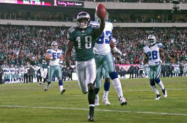 J. Maclin and Philadelphia looked fantastic against Dallas (US Presswire).