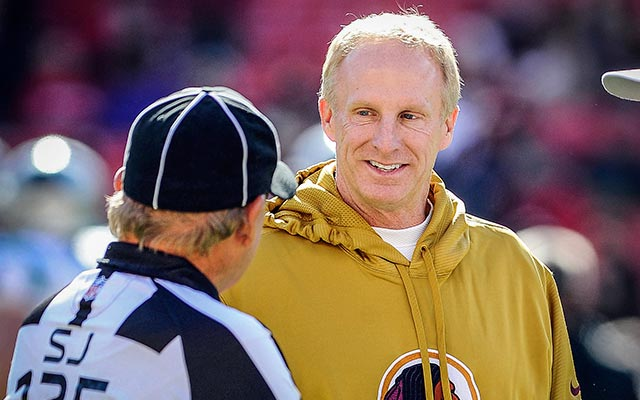 Jim Haslett returns for Year 5 in Washington. (USATSI)