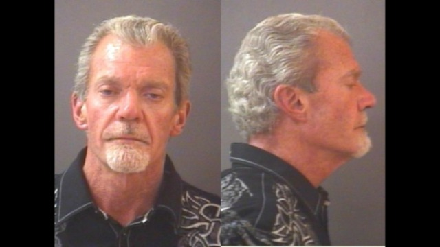 Colts owner Jim Irsay after his March 16 arrest. (Carmel (Ind.) Police)