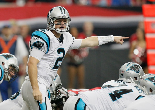 J. Clausen hopes to get Carolina turned around in 2011 (Getty).