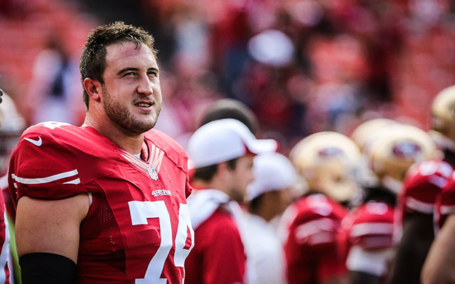 Joe Staley has been one of San Francisco's most consistent players. (USATSI)