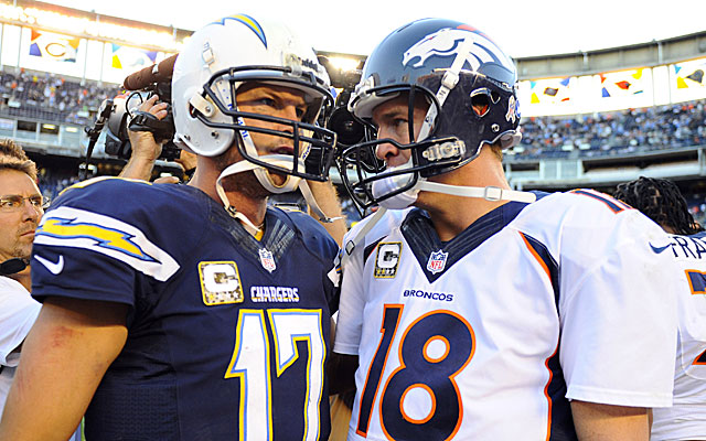 The division-rival Broncos and Chargers both have plenty on the line.