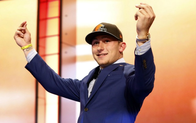 At the moment, Johnny Manziel has a lot in common with Brady Quinn and Brandon Weeden. (USATSI)