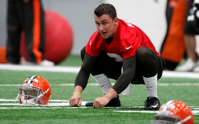 Has Johnny Manziel been sufficiently humbled? (Getty Images)