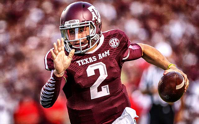 Could Johnny Football take his game to Dallas?. (USATSI)