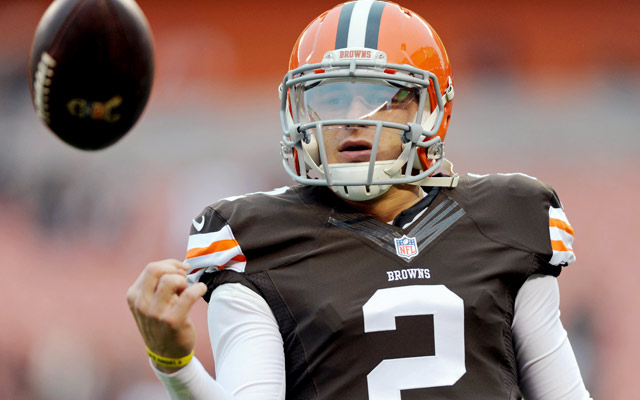Johnny Manziel showed off his wheels vs. the Lions Sat. night.