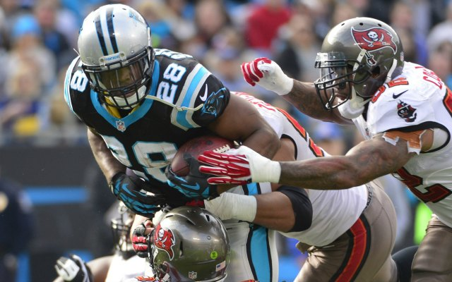 Jonathan Stewart missed the first seven games of the season on the PUP list. (USATSI)