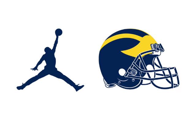 f949eee9850 WATCH: Michael Jordan welcomes Michigan football to Nike, his brand ...