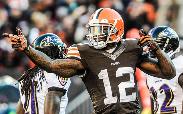 Josh Gordon will likely be catching passes from a new QB in 2014. (USATSI)