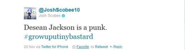 Scobee tweet