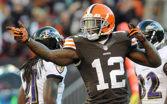 Josh Gordon is third all-time in receiving yards through a player's first two seasons. (USATSI)