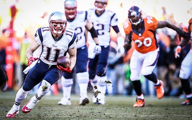 Julian Edelman will again be catching passes from Tom Brady in 2014. (USATSI)