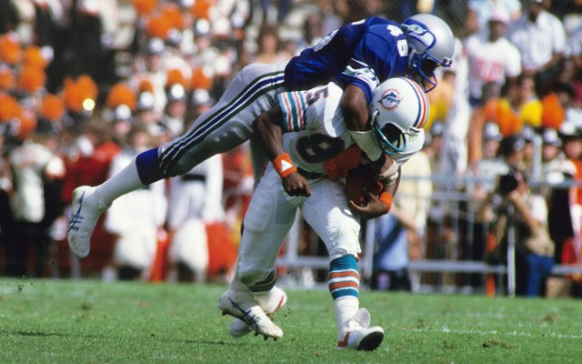 Kenny Easley led the league with 10 interceptions in 1984. (Getty Images)