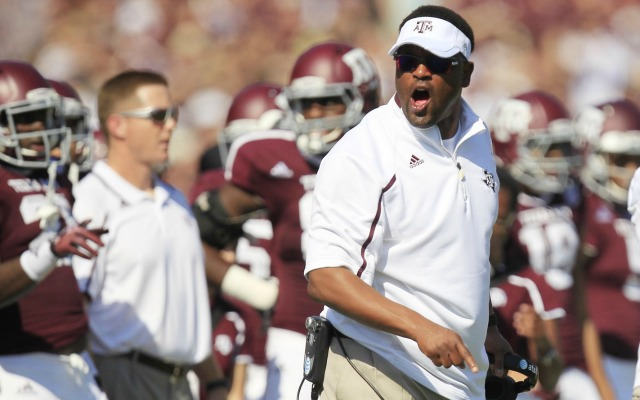 Kevin Sumlin likely will be a sought-after NFL coaching candidate. (USATSI)
