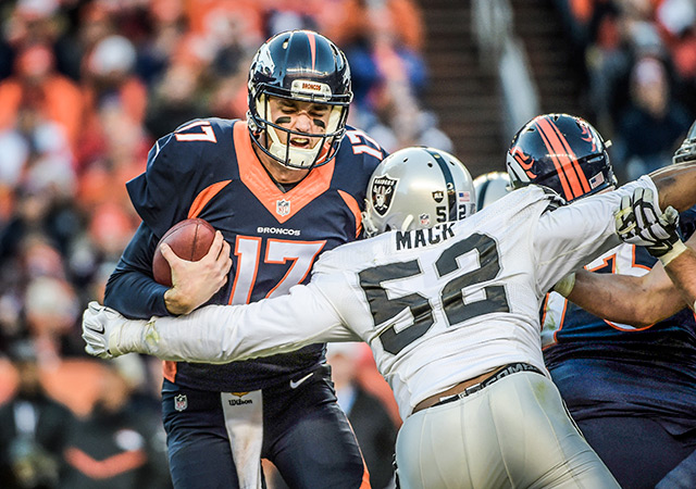 Khalil Mack was unstoppable for much of the 2015 season. (USATSI)