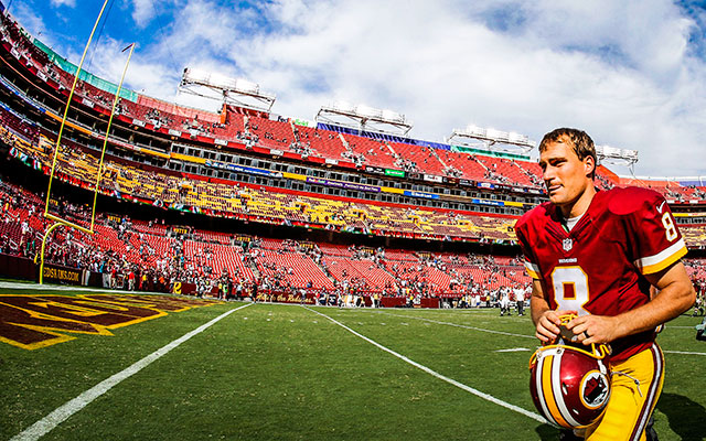 The Redskins are Kirk Cousins' team now. (USATSI)