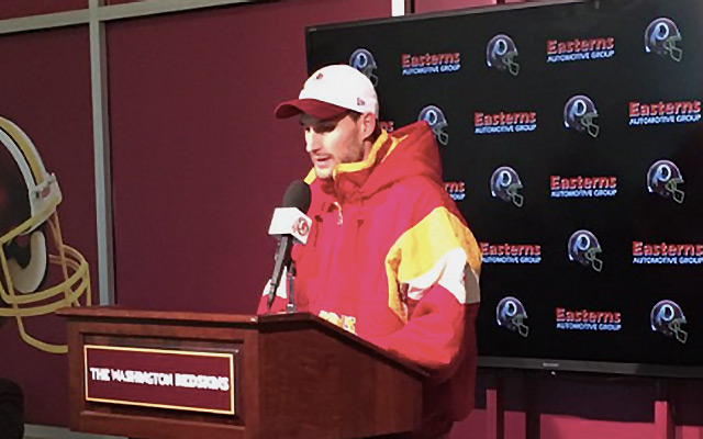 bae51eb3f LOOK  Kirk Cousins buys old-school Redskins Starter jacket on eBay ...