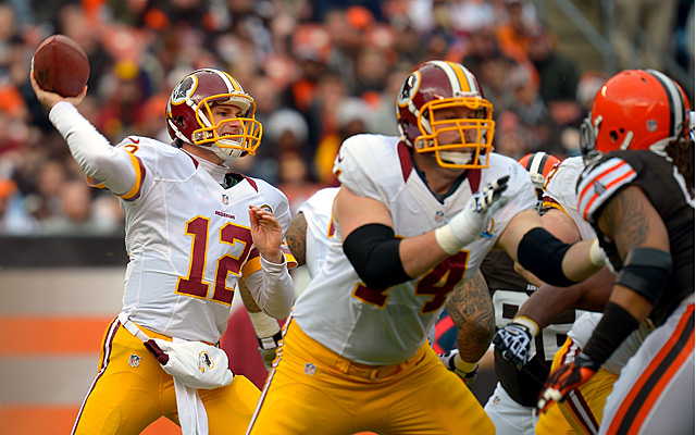 How much would you give up to acquire Kirk Cousins?. (USATSI)