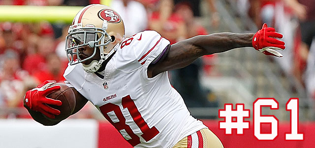 Boldin is a key weapon for the 49ers' offense. (USATSI)