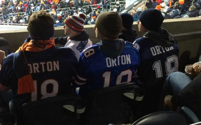 LOOK: Three jerseys Kyle Orton has worn showed up at the Bears ...