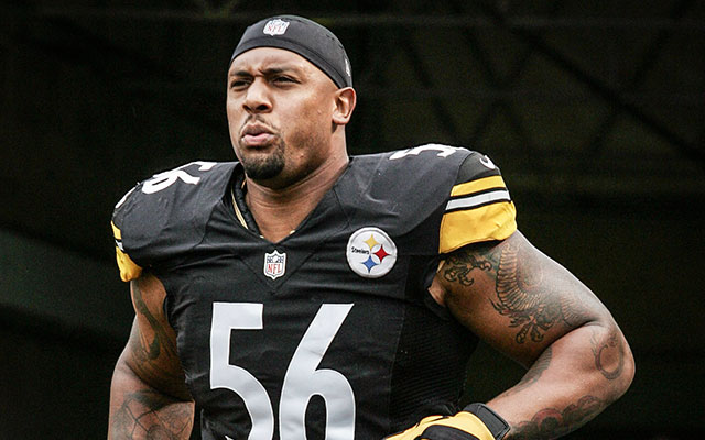 LaMarr Woodley joins Justin Tuck in Oakland. (USATSI)