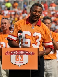Lee Roy Selmon suffered a stroke but apparently is improving (US Presswire).