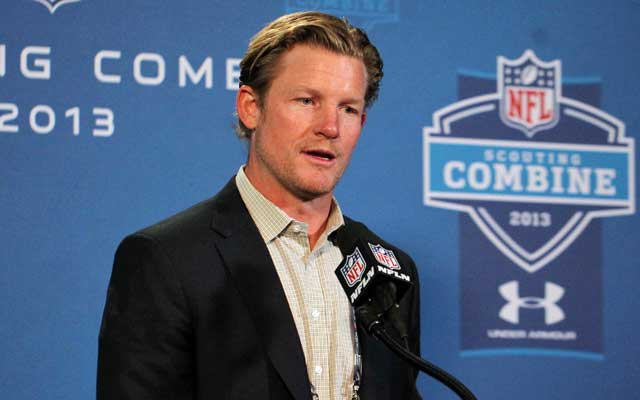 Rams GM Les Snead will have two first-round picks in 2014. (USATSI)