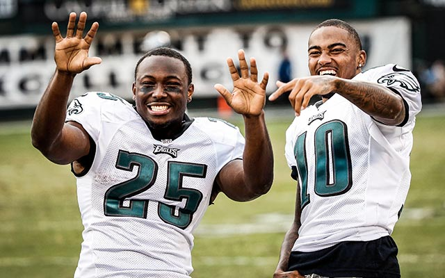LeSean McCoy admits to being surprised DeSean Jackson was cut. (USATSI)