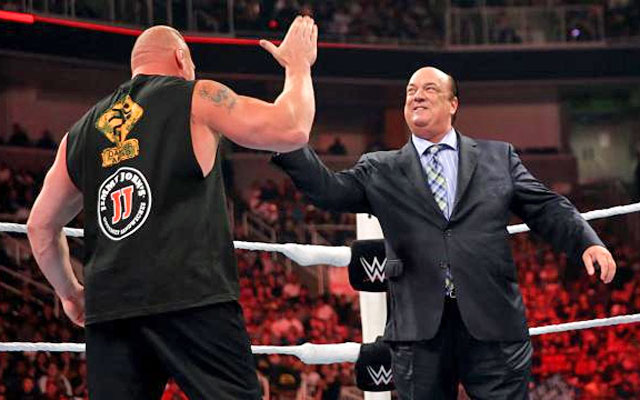 Paul Heyman is known for his tight relationships with talent. (WWE)